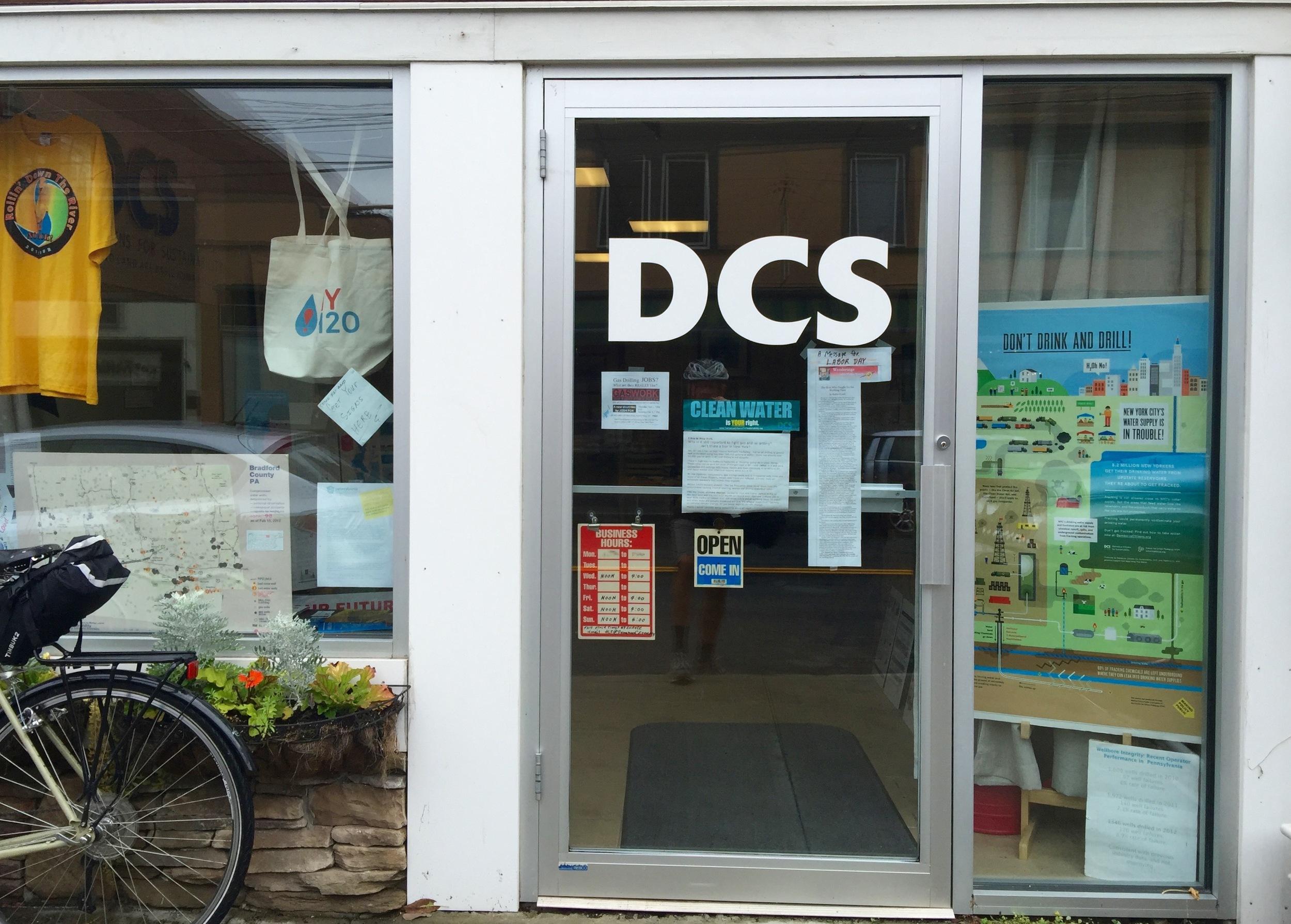 The DCS office in Narrowsburg, NY