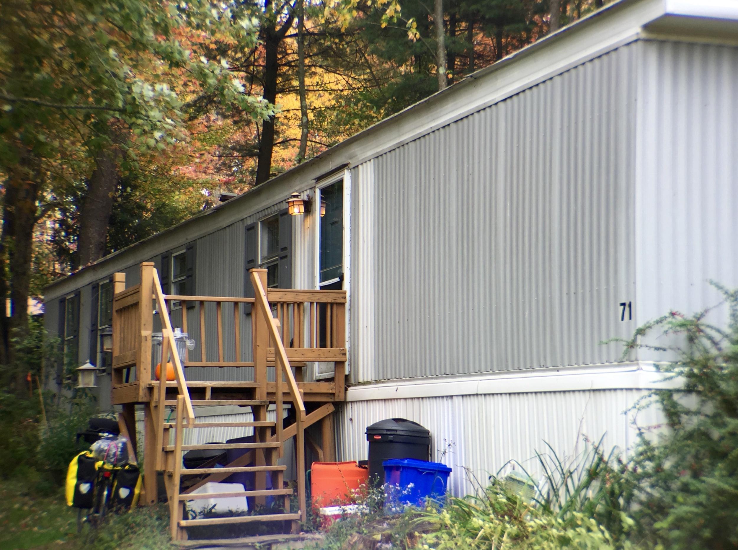 Vera Scroggin's home in Brackney, PA.