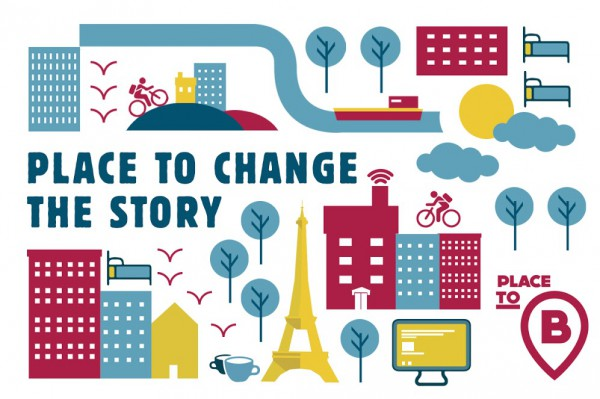 Place to B assist storytellers to tell the story of climate change and efforts to come to terms with it in venues other than the official one of COP21.