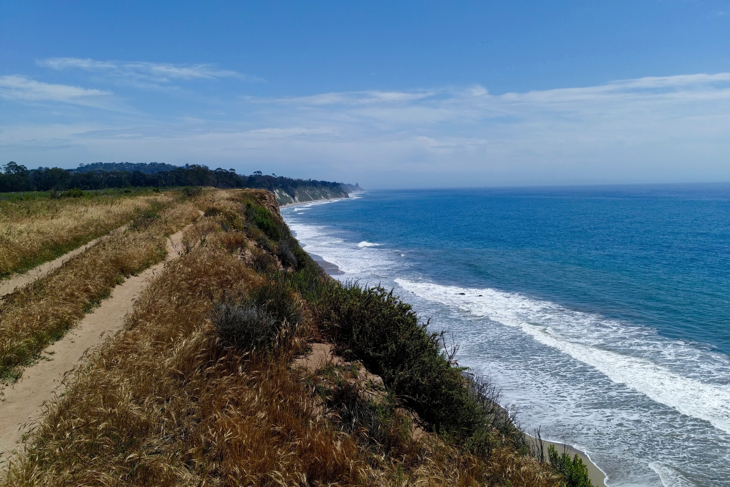 """There is an interesting section of undeveloped coast between Ventura and Santa Barbara that is a regional park. It reminds me of a """"light""""version of the Lost Coast area south of Eureka."""