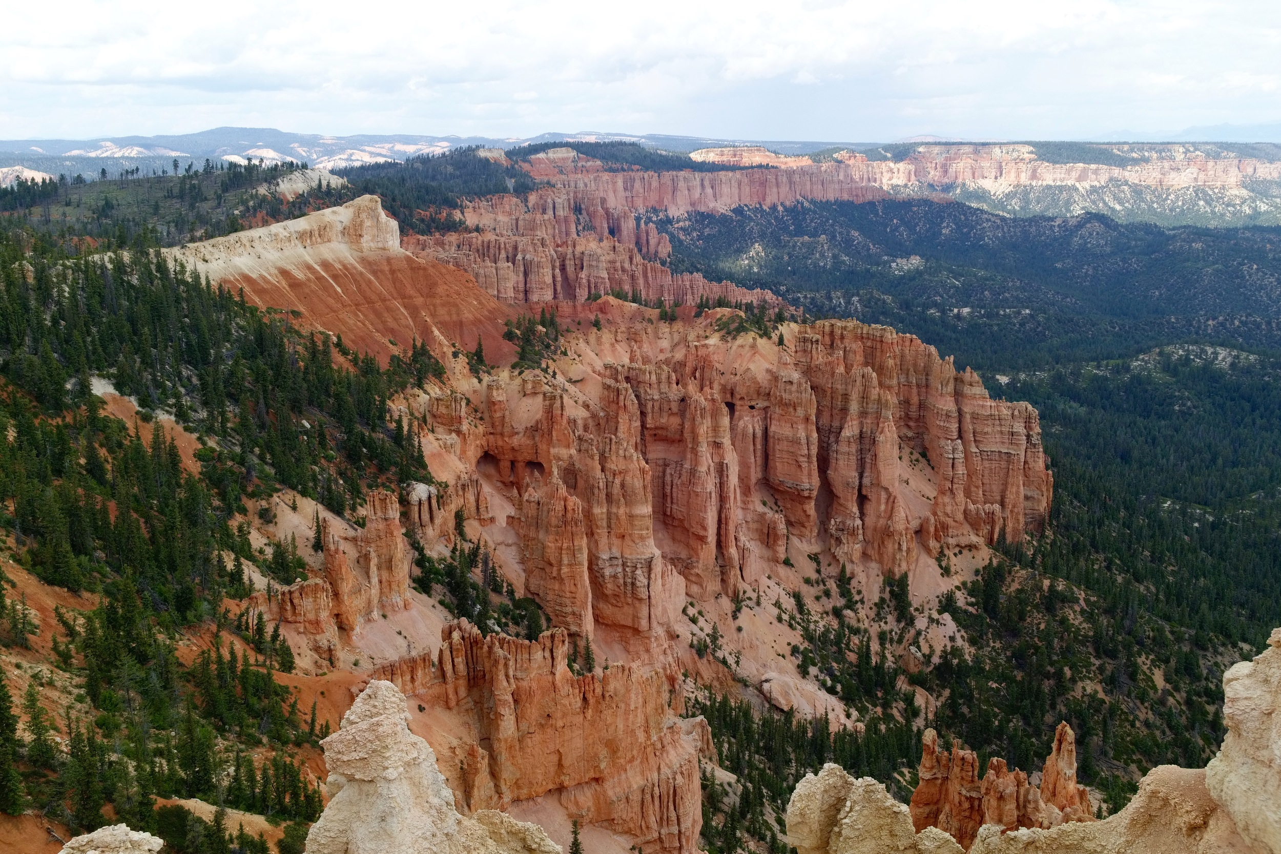 The length of Bryce Canyon.
