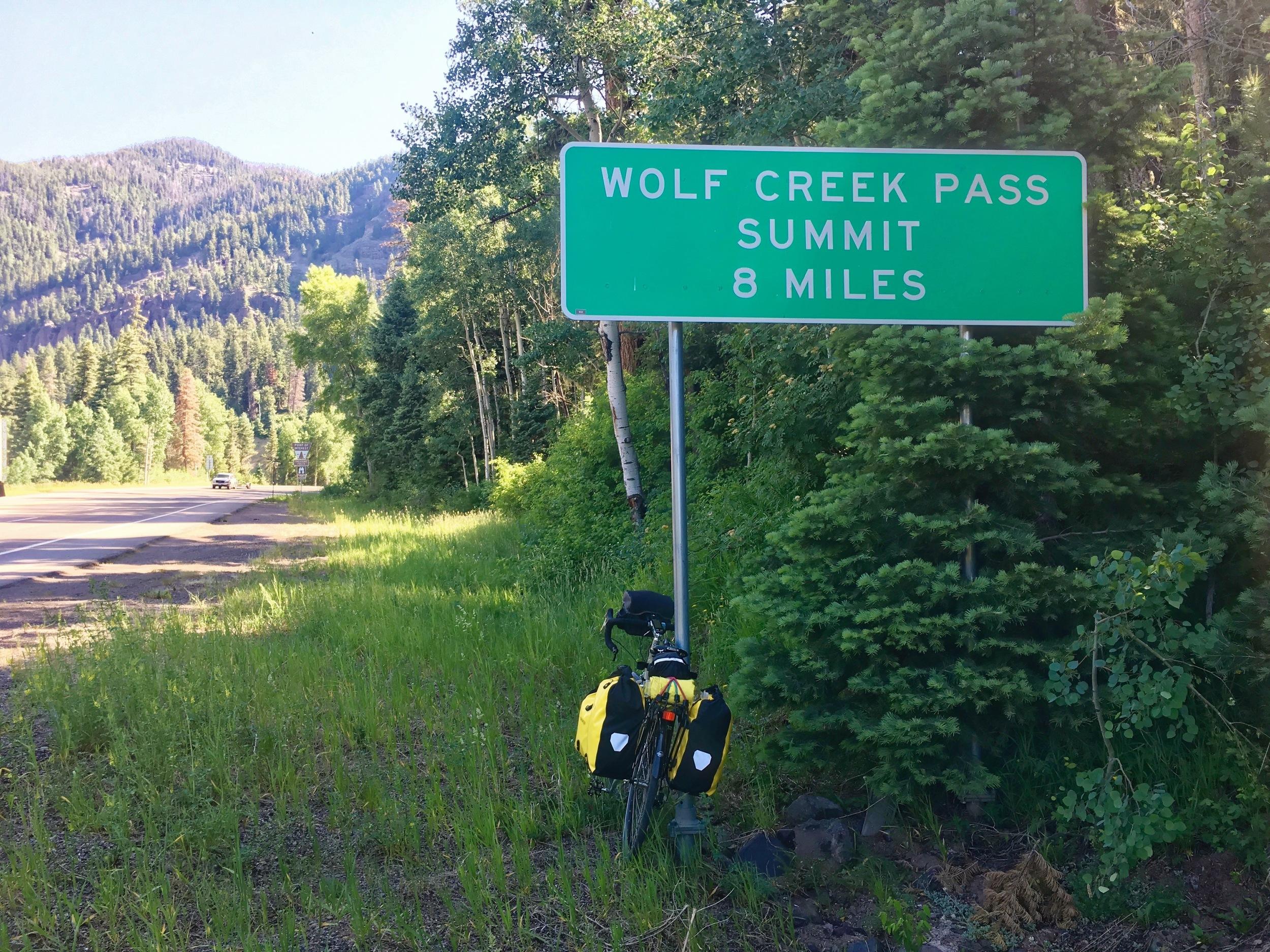 8 miles plus 8% grades = tired guy .