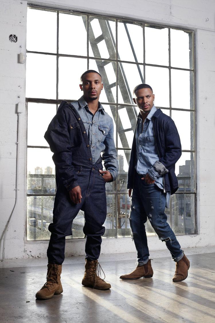 The Harris Twins shoot in downtown LA with Steven G.jpg