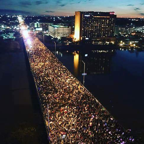Anti-Trump Protests: Austin Texas