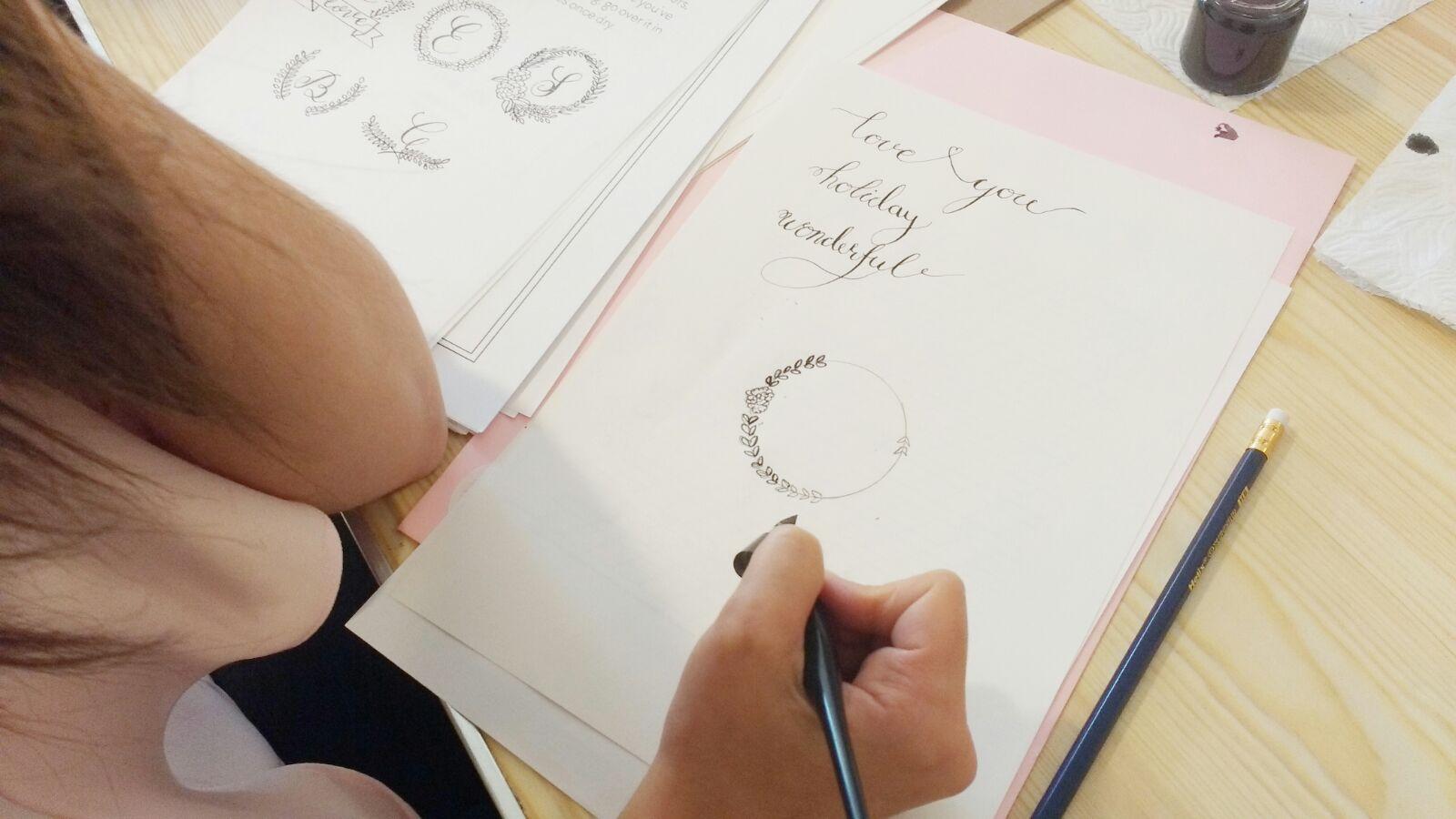 Modern Calligraphy Workshops in Cheltenham and Dublin