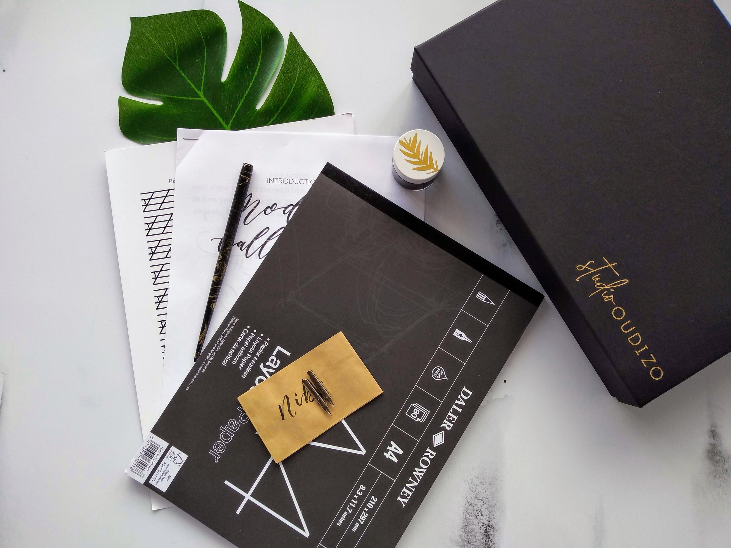 Modern Calligraphy Workshops in Bristol and Amsterdam
