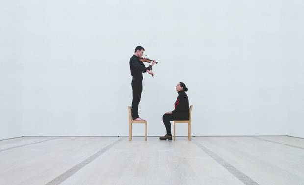 'The violinist is present' with Marina Abramovic