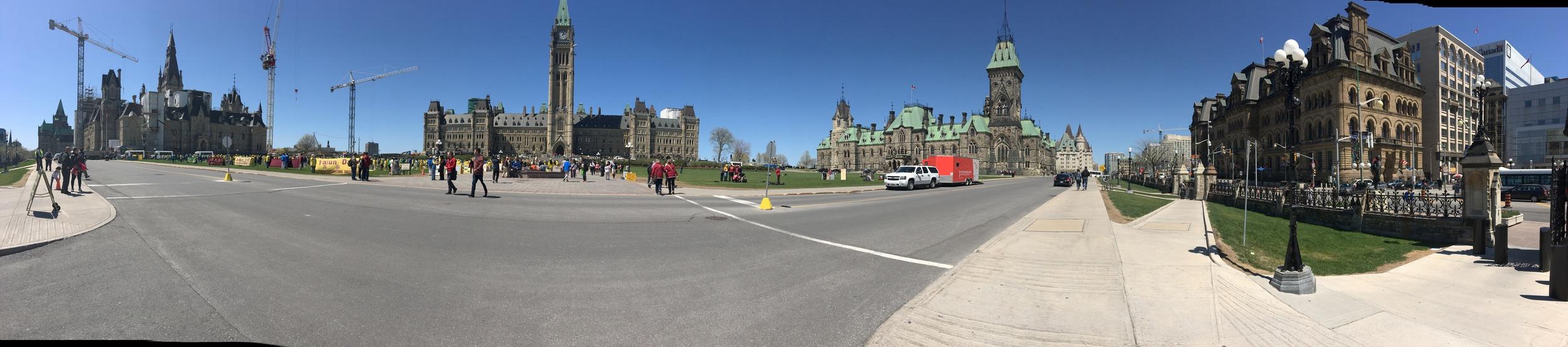 Parliament Hill Panorama