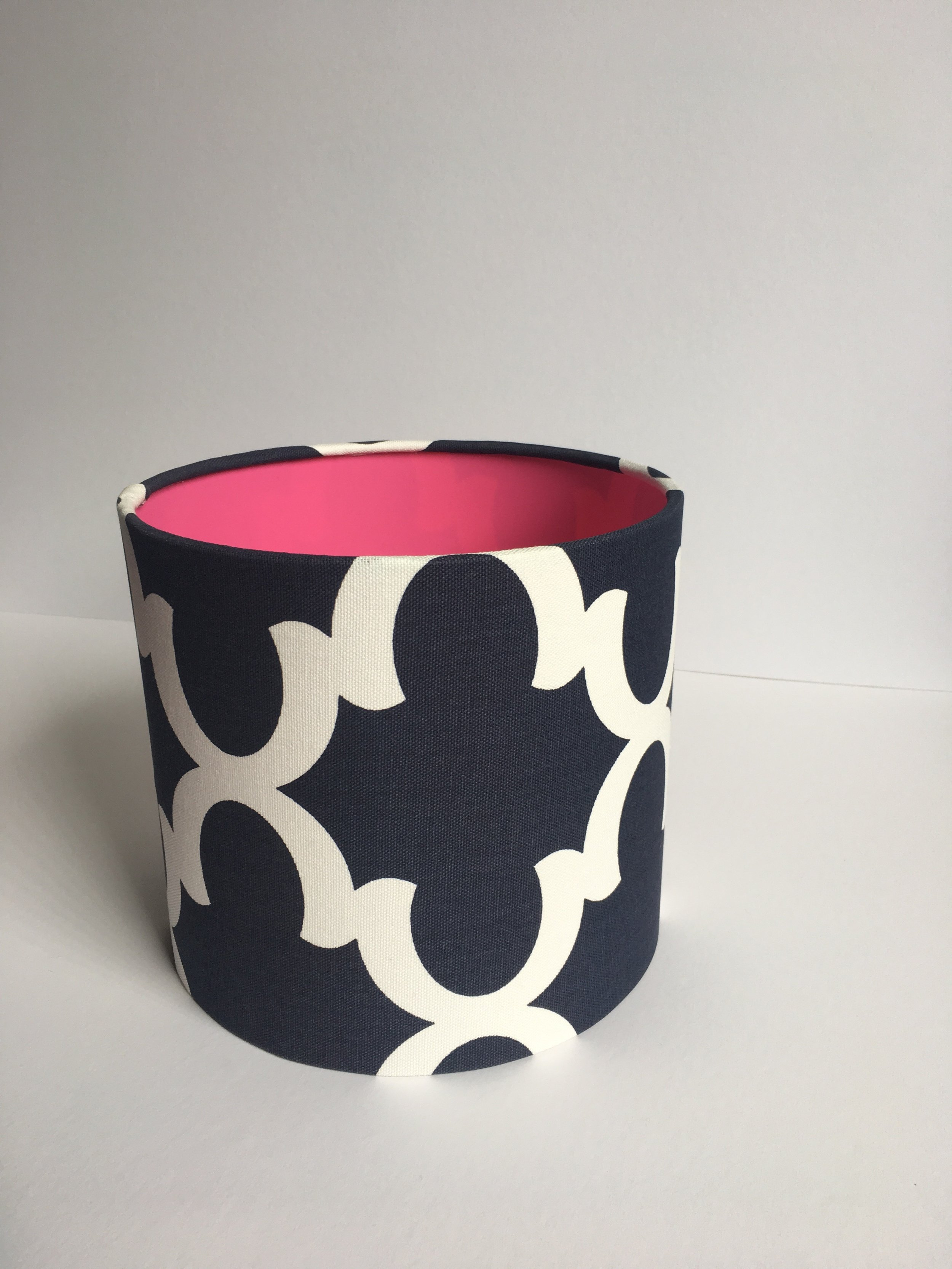 Navy and white lampshade.jpg