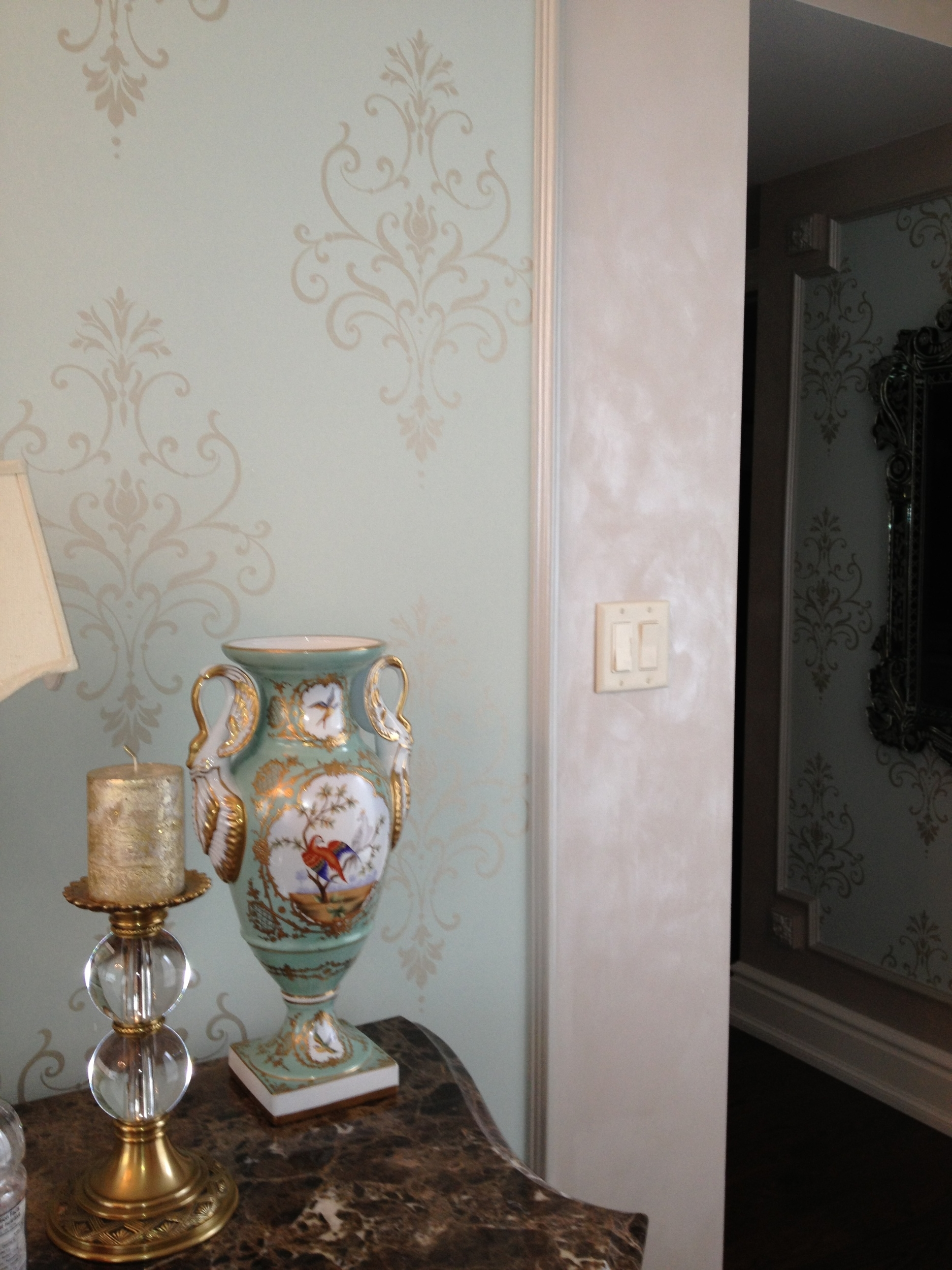 Pearlescent Plaster