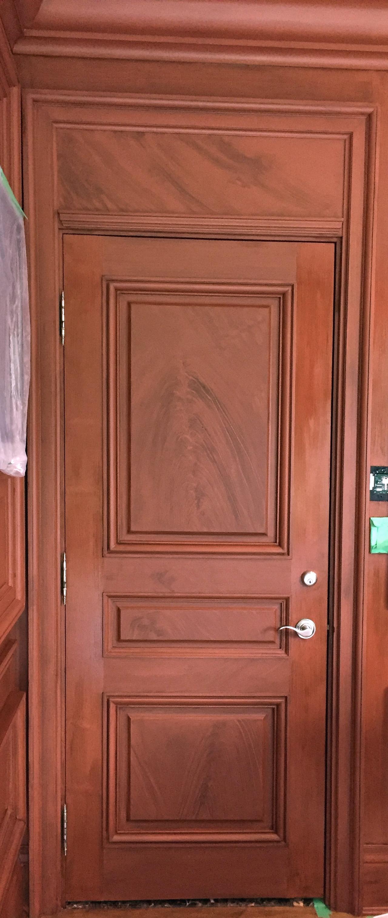 Office door.