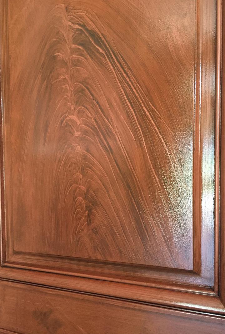 Door panel.
