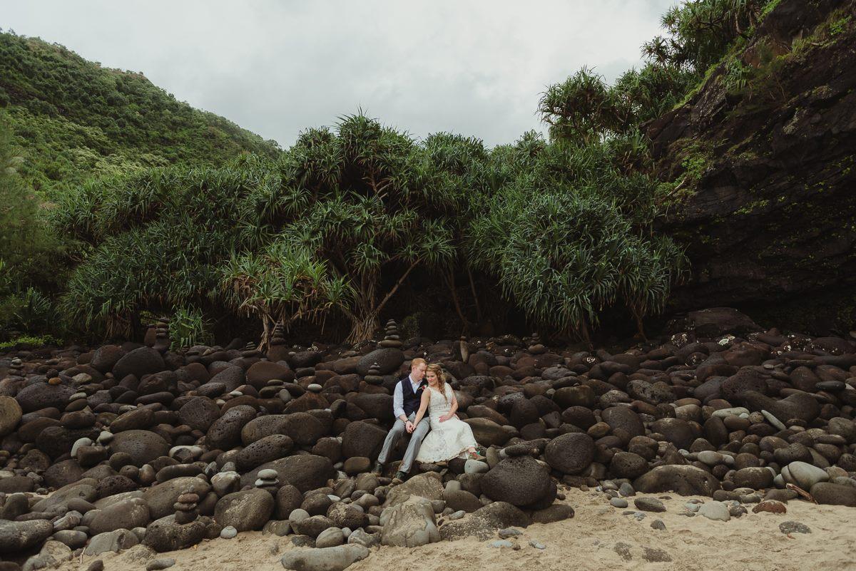 Hanakapiai Beach, Na Pali Coast, Kauai