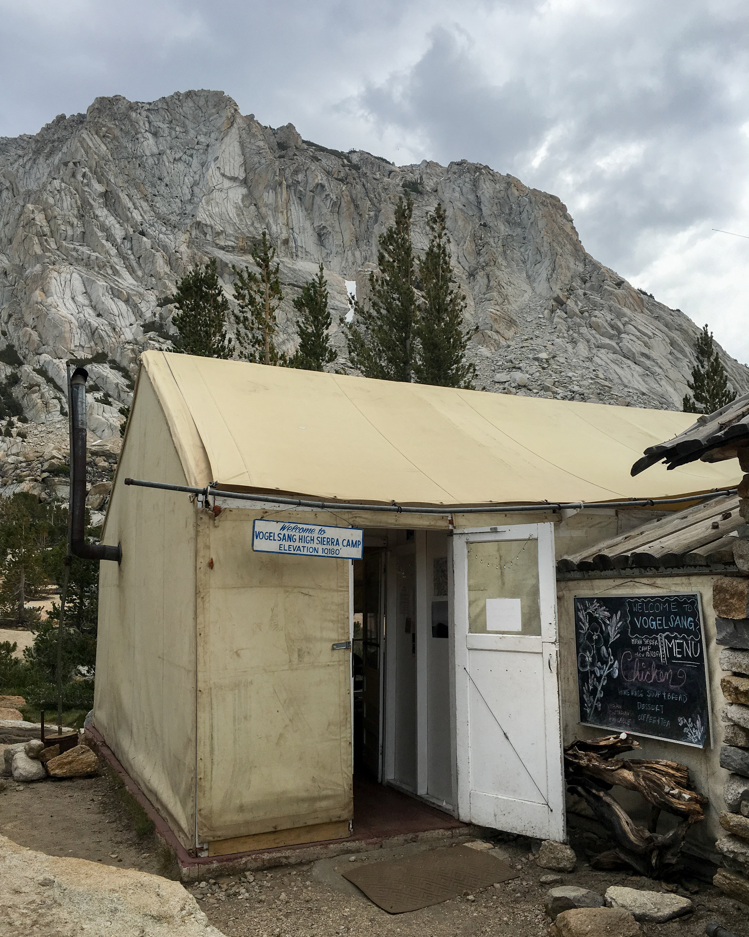 Camp Vogelsang Mess Hall