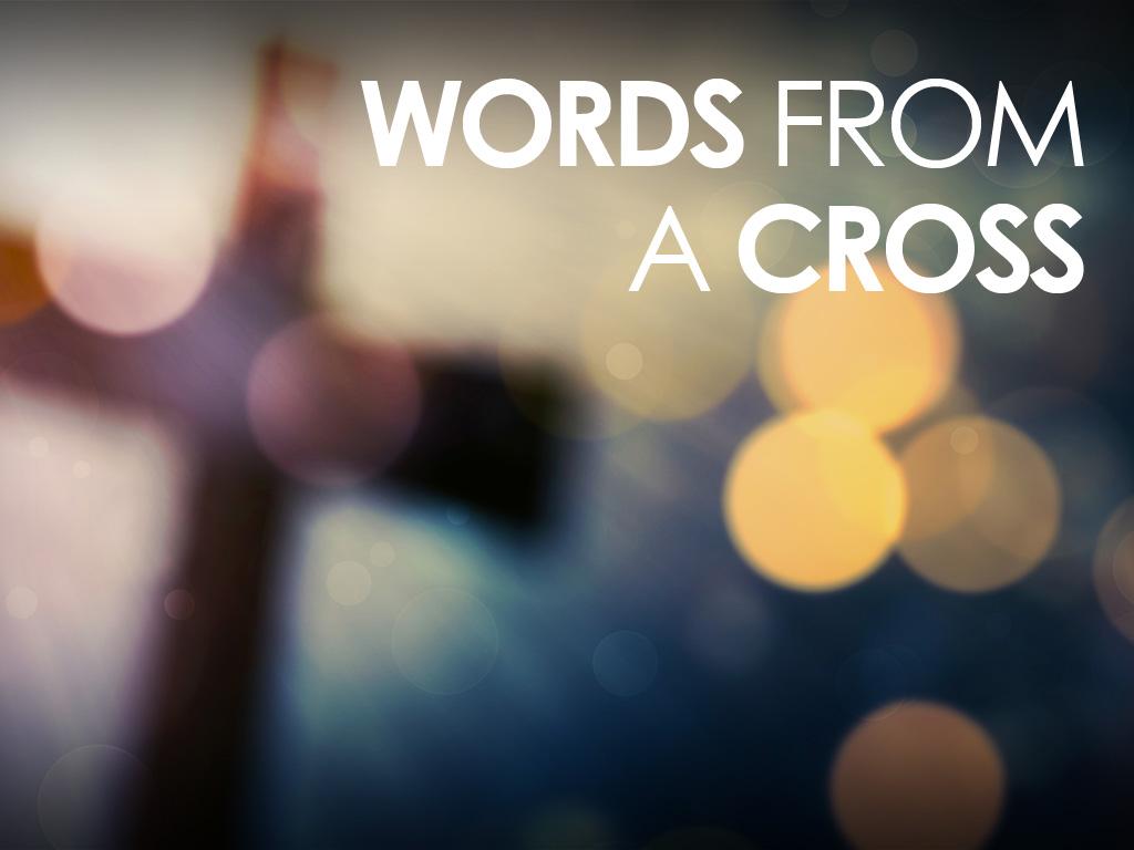 Words On A Cross