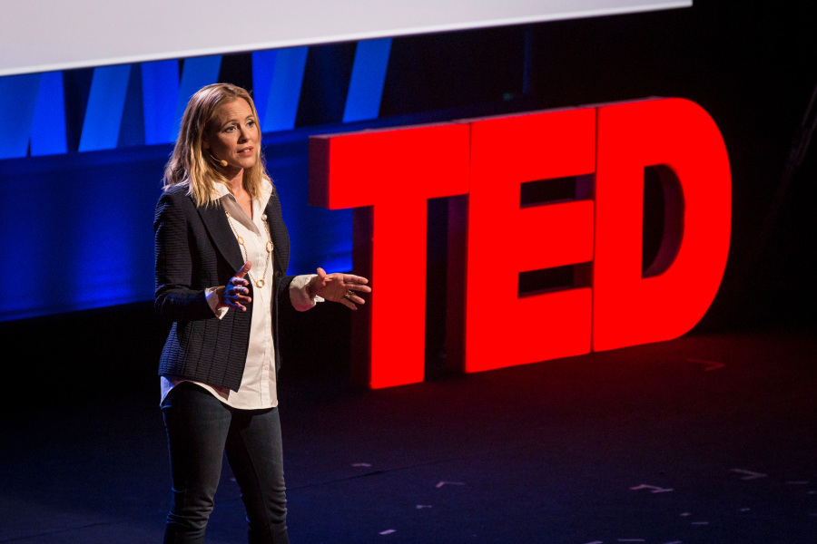 TED Talk client Maria Bello