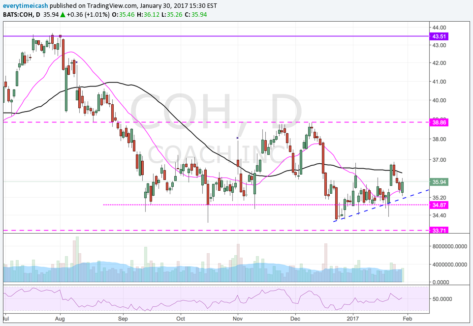 COH DAILY CHART