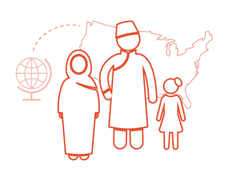 WHEREVER YOU ARE BORN, YOU ARE AT HOME IN COLORADO  More than 65.3 million men, women, and children flee violence and instability in their home countries every year. More than 2,000 of these individuals end up in Colorado every year where they struggle to navigate our health system, education, and employment systems while rebuilding safe and stable lives.