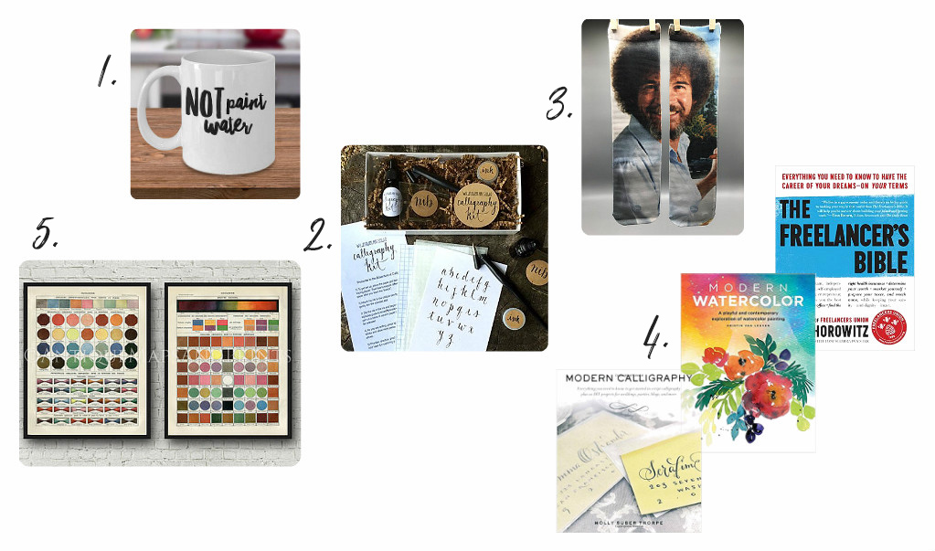 Gift ideas for artists & makers; how to inspire & add some fun this holiday season! From danielle & co.