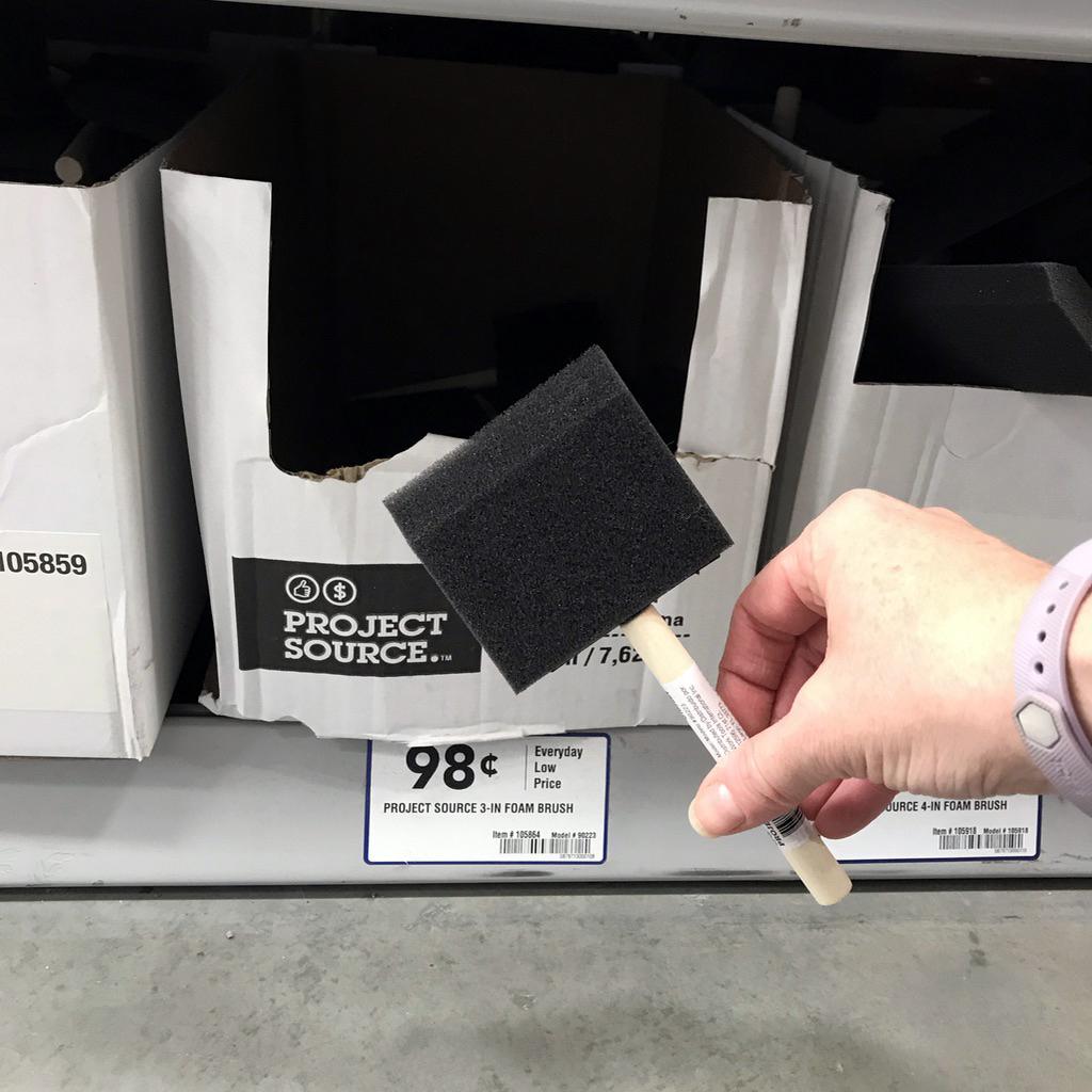 Affordable Foam Brush