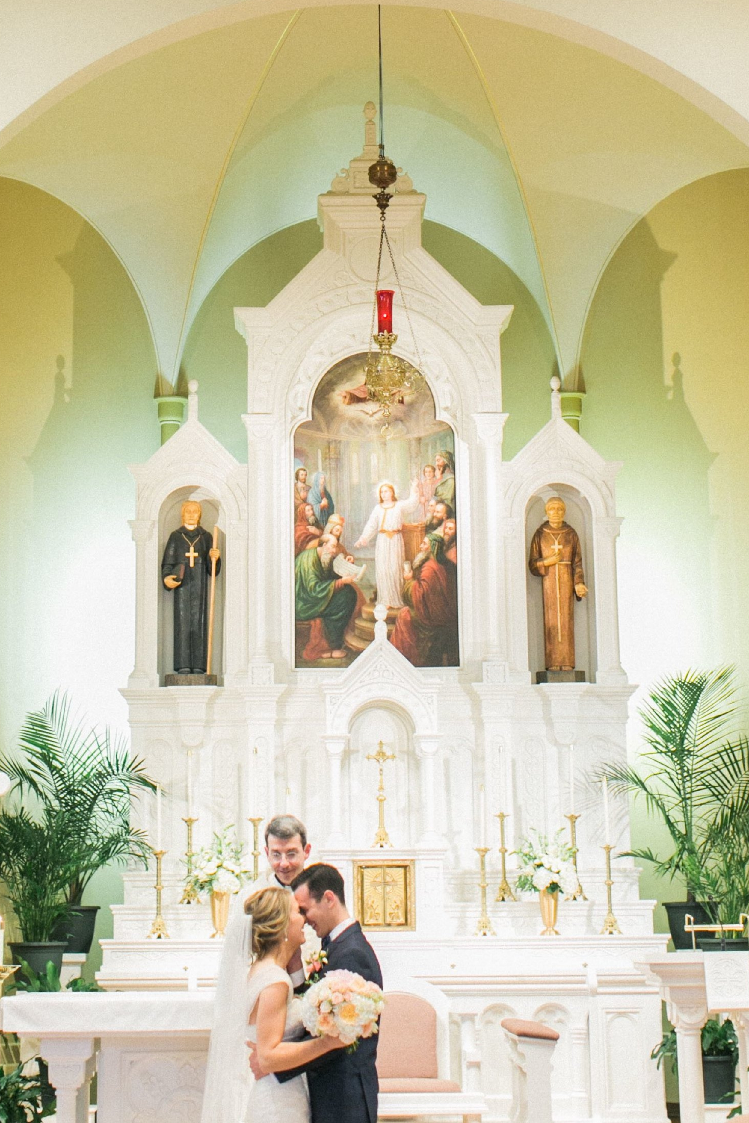 Sacramental Marriage: Our Wedding Ceremony — with a little grace