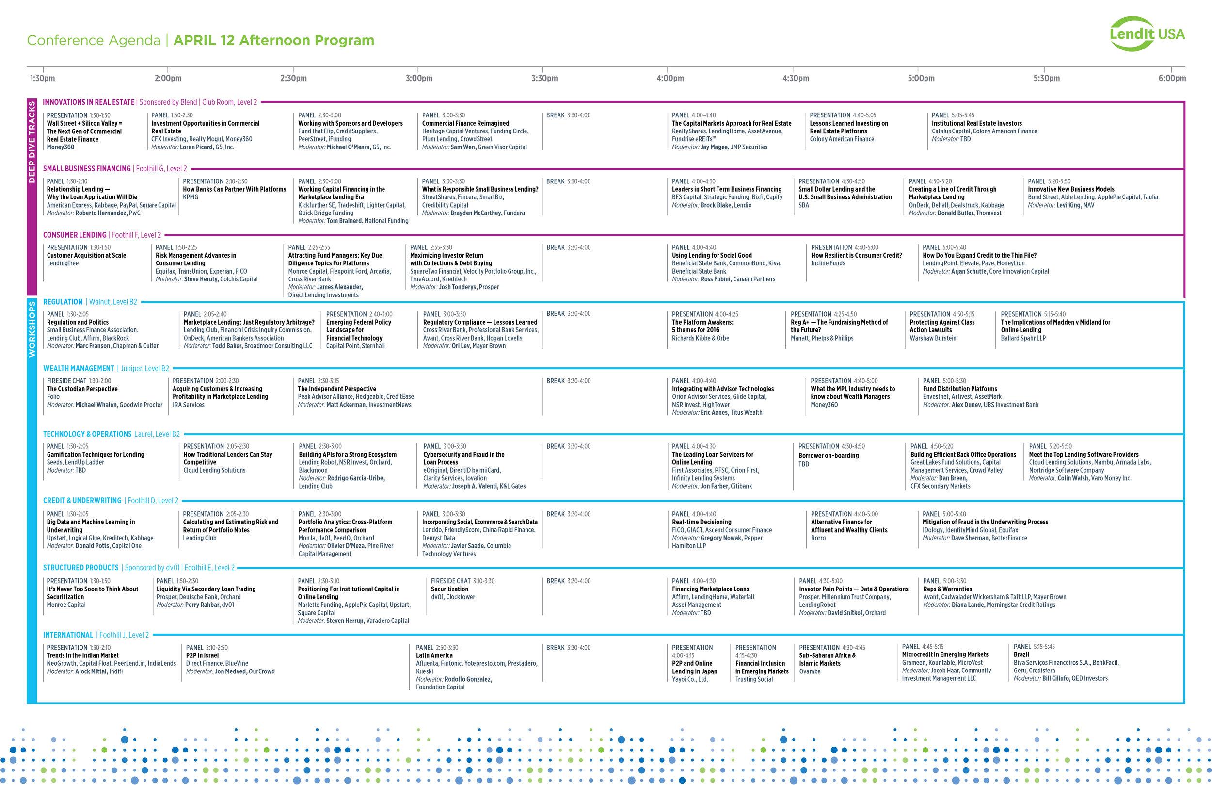 Agenda Informational Guide