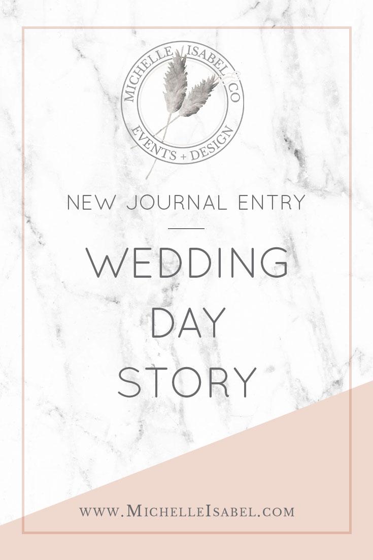 My Wedding Story