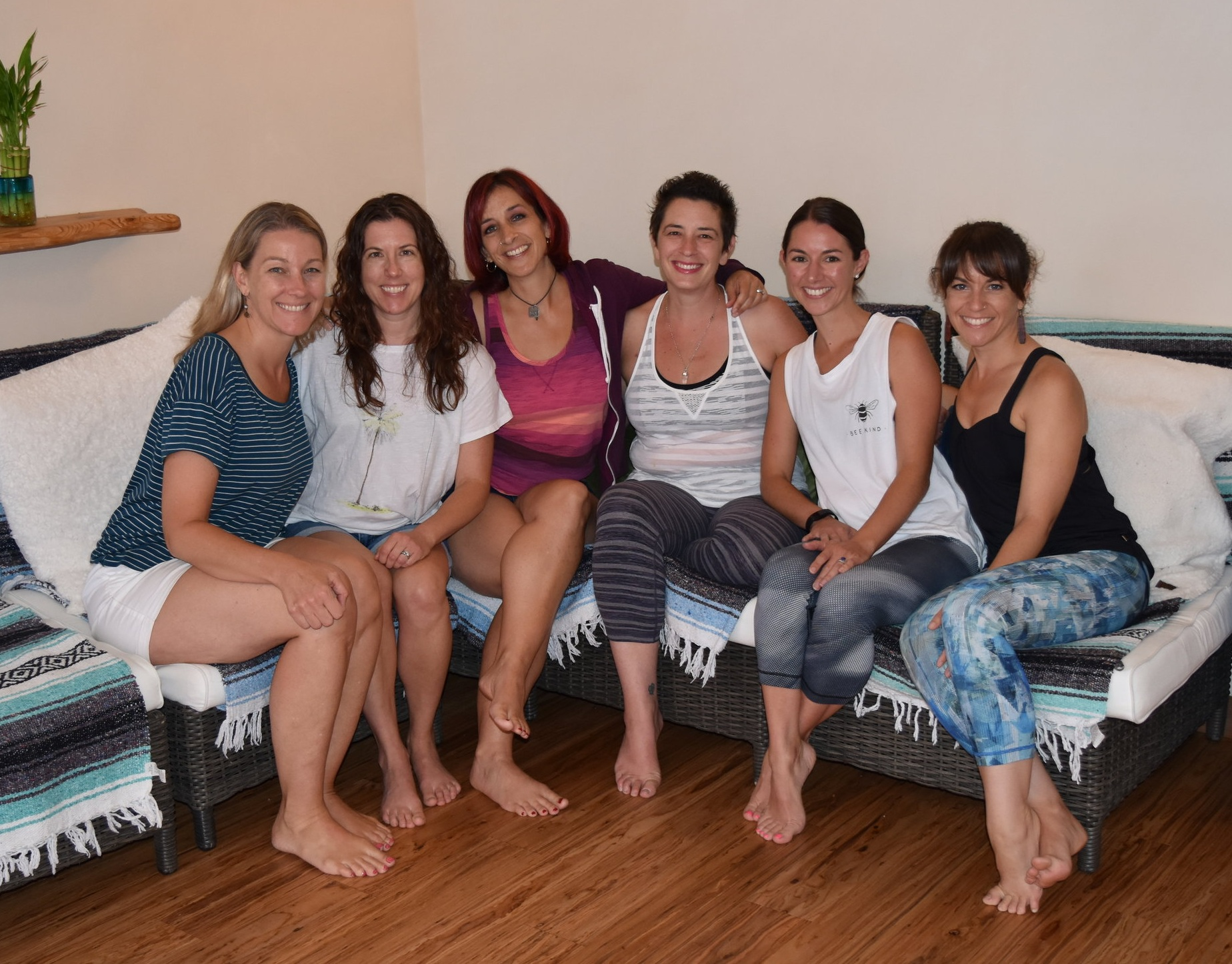 The Lotus Blossom Team (from left): Hillary, Adrienne, Jeanna, Casey, Rebecca, and Lisa