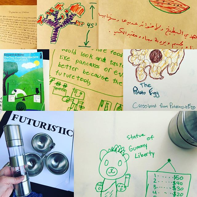 Future of Food stories from our exhibit at MightyFest! #futurefood #scifi #futurism #creativewriting #kidinventors #foodwriting #foodstories #climatechange #sustainablefoodsystems