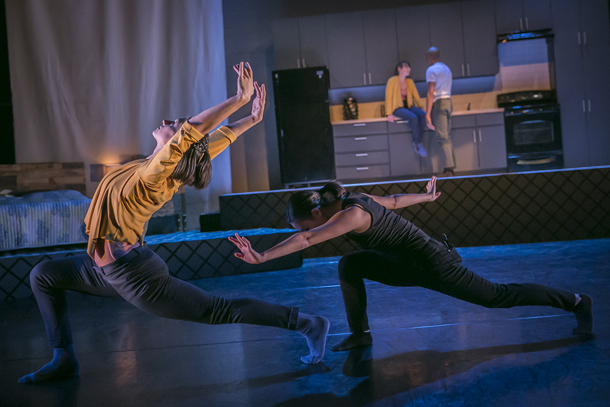 Melissa Lineburg & Hannah Joo in The Kind of Thing That Would Happen Photo: Sasha Fornari