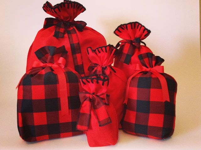 These are our new beauties. They are so cute to stuff and use as Christmas decor. Come and see us at the Blue Mountain Christmas Gift Show this weekend at Blue Mountain Resort Village Conference Centre. #christmasgiftbags #christmasdecor  #bluemountainchristmasshow