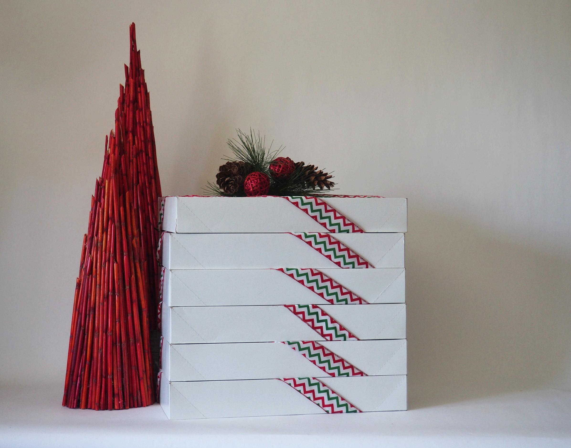 We provide professional boxes and coordinating ribbon for our products -all you have to do is give the gift!