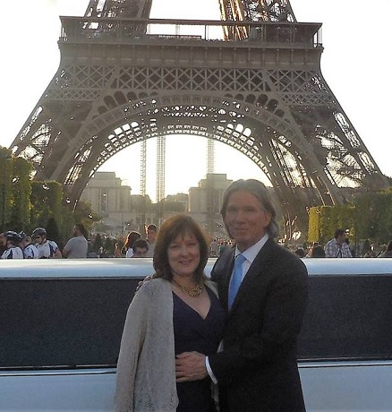 Brenda Gousset - the owner of Eiffel Enterprises - & Dr. Glidden.  Now you know how this site got its name…