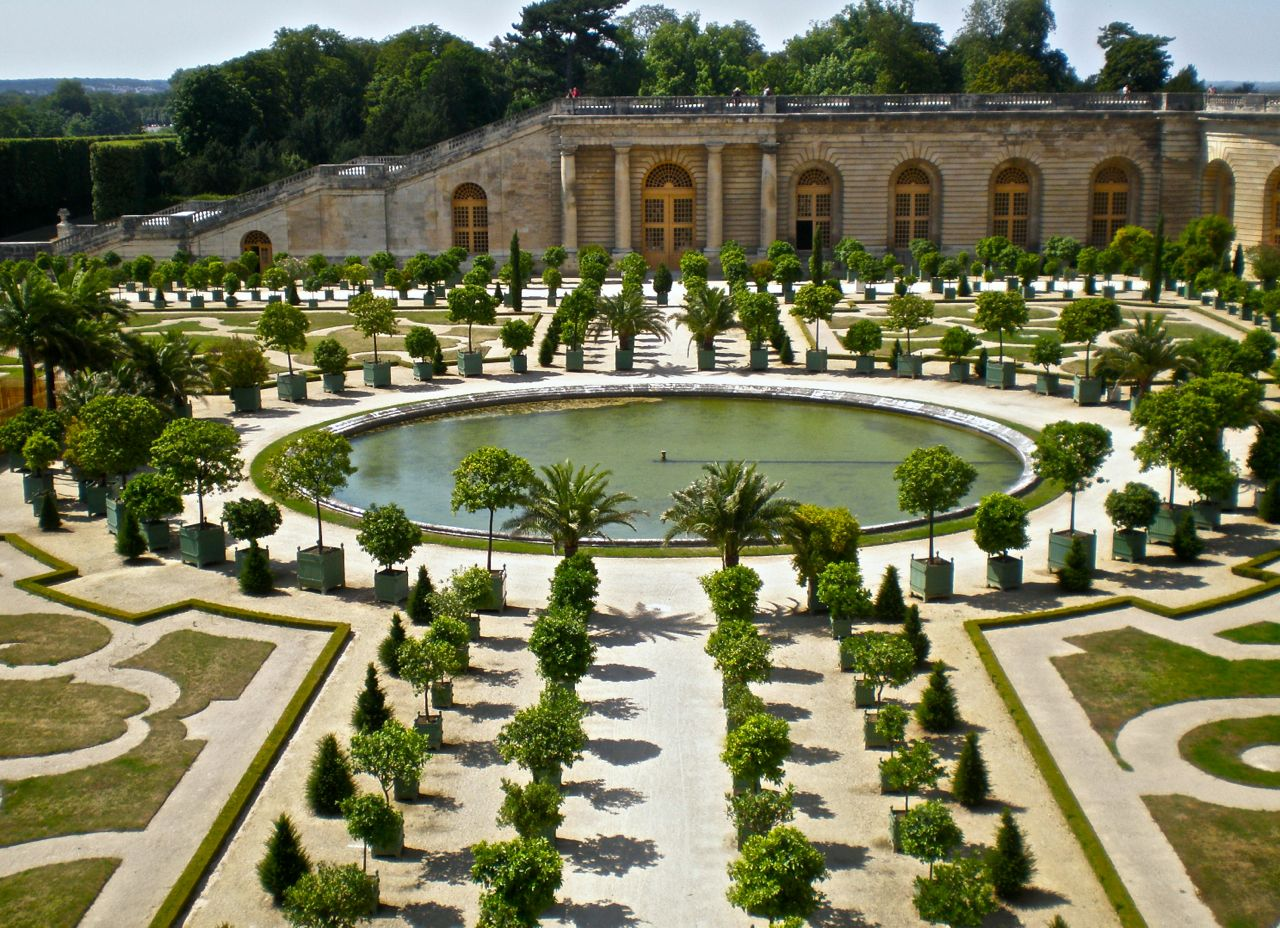 The orangerie at Versailles.