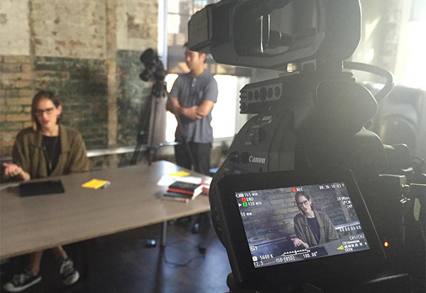 On Location at the Skillshare offices