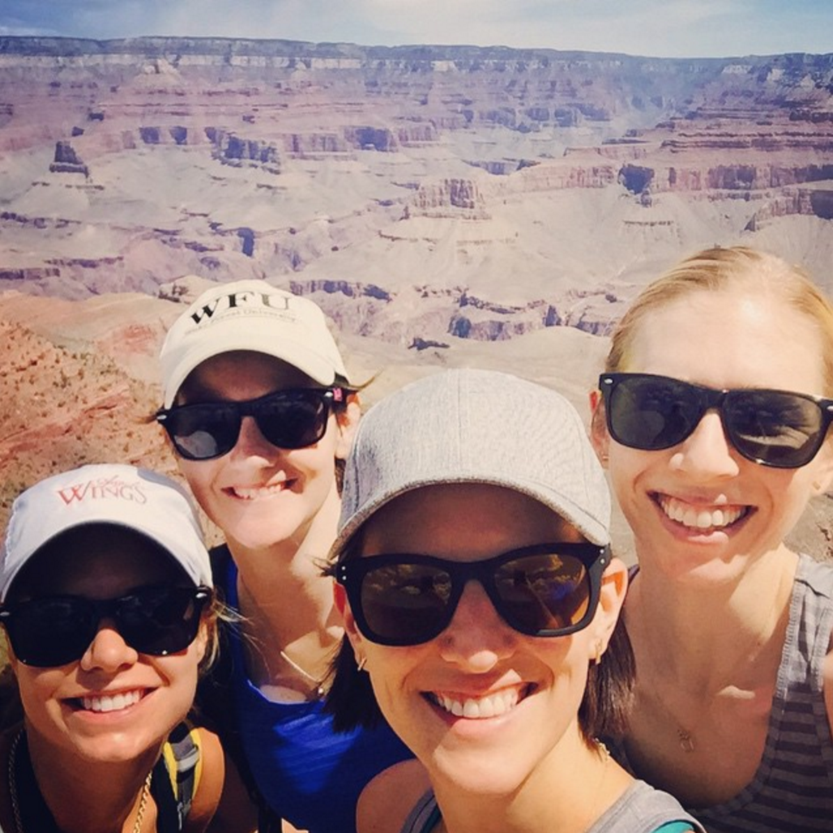 Work hard, play hard! This isn't a career-related post, I was totally reinvigorated after this amazing 30th birthday year trip with my besties from college. We met in Phoenix, rented an RV and drove/hiked into the Grand Canyon and Sedona, and had s'mores every night under the stars-- can't beat that!