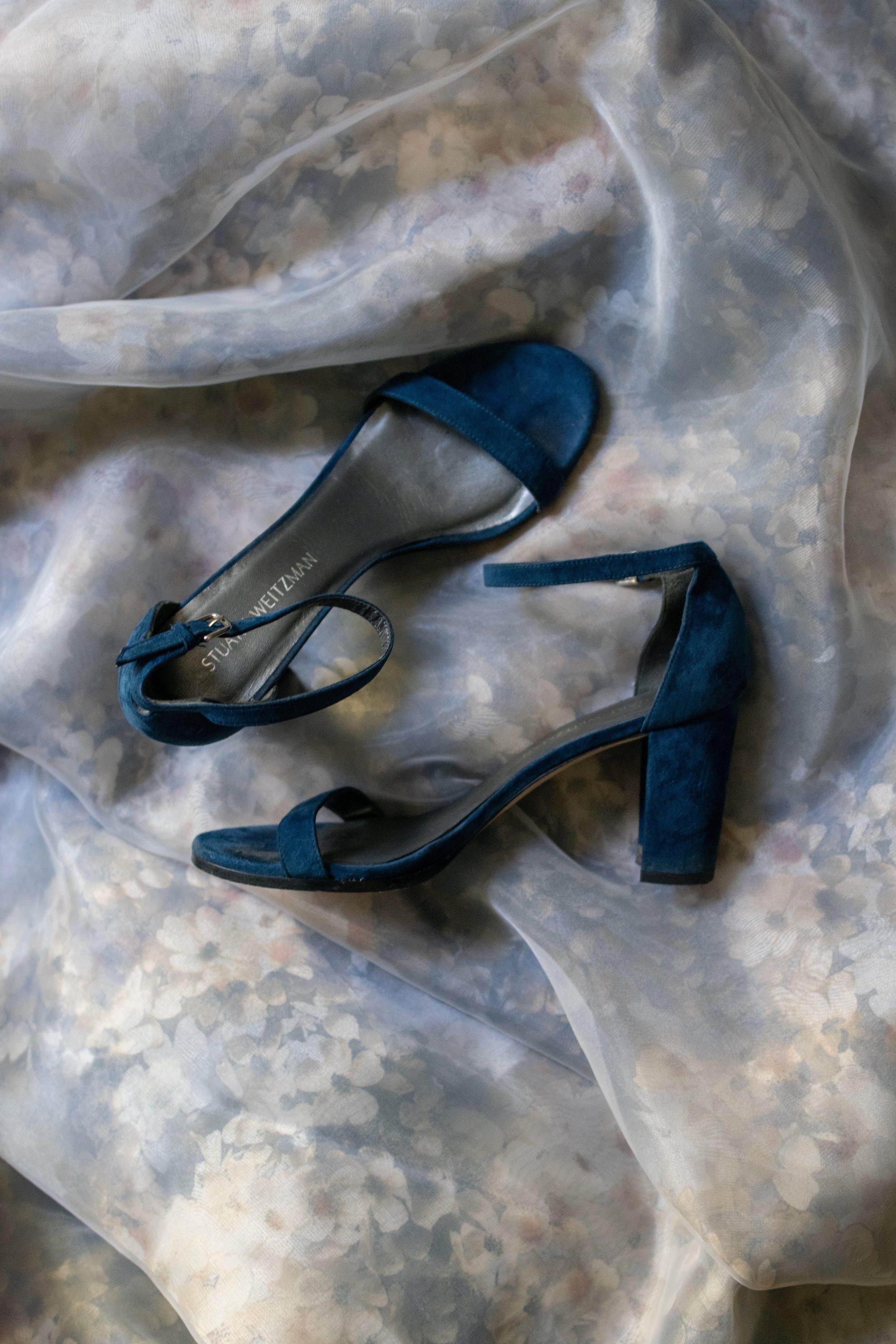 My wedding shoes:  Stuart Weitzman