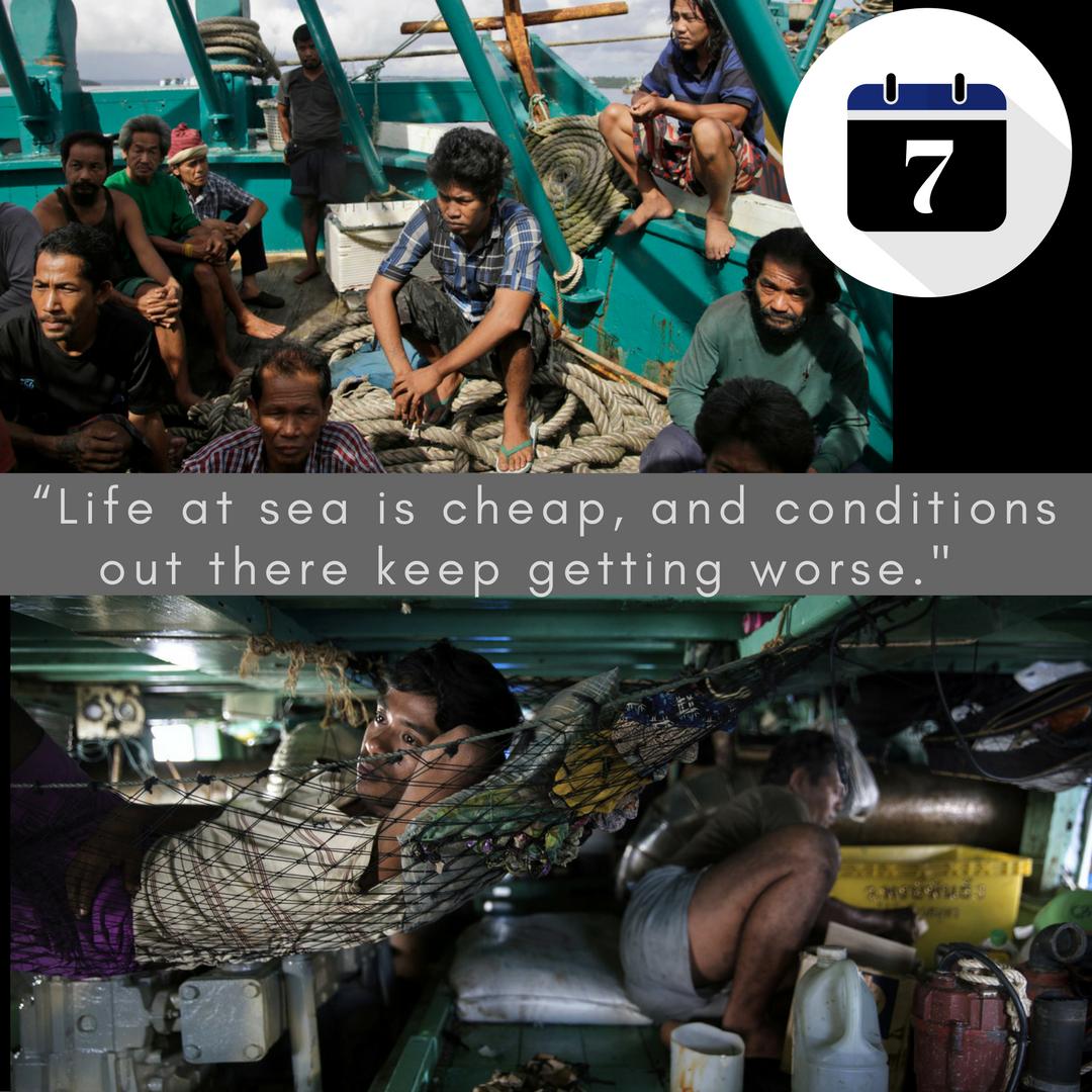 2-6,000 Seamen Day due to Poor Safety
