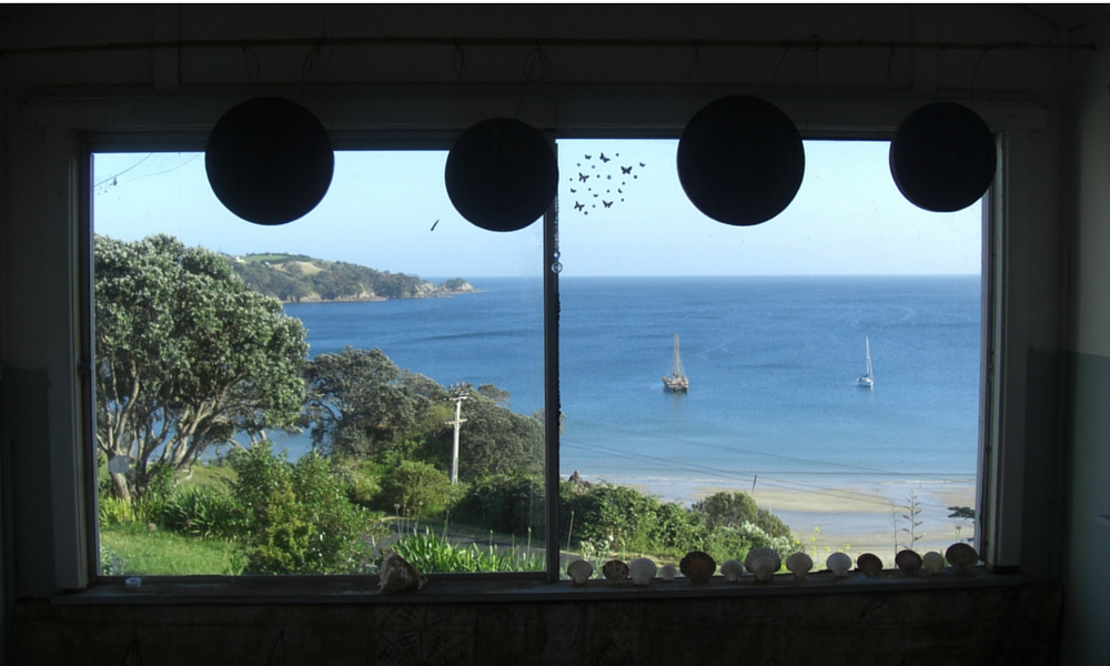 The Universe stepped in and delivered us to an island anyway - one I'd never dreamed of going to - Waiheke Island, New Zealand.