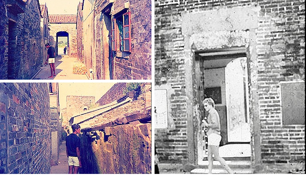 Photos taken at walled villages in the New Territories, 1970