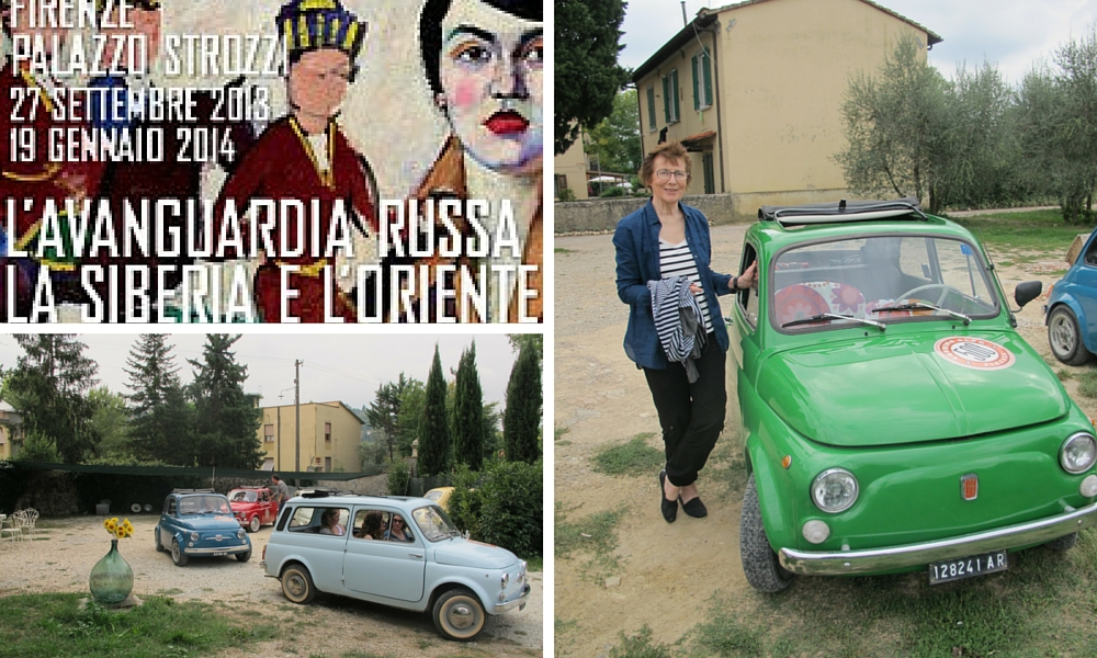 Fun in Florence with Fiats and the Russian chapter