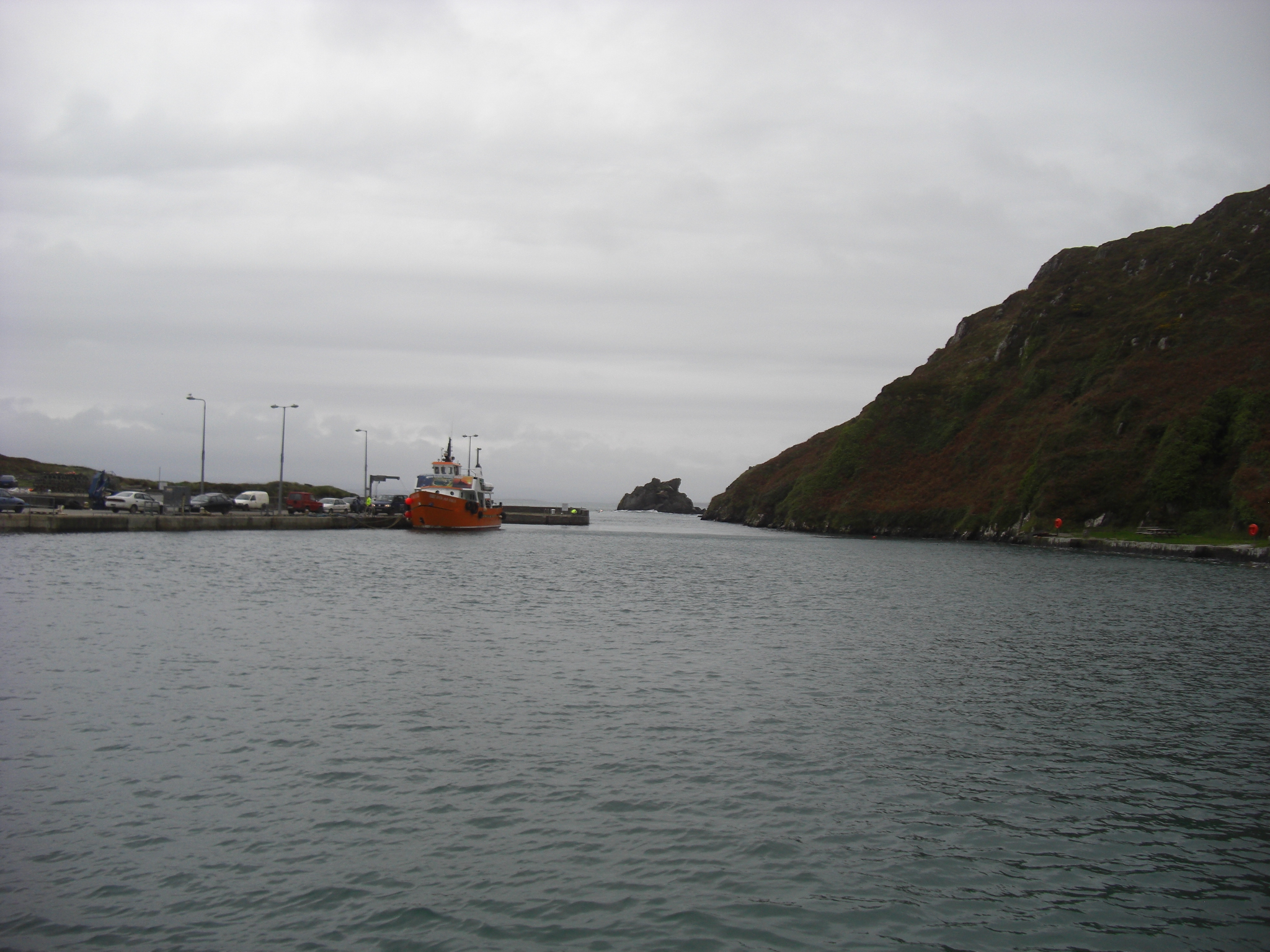 Ferry from Baltimore in Clear Isle harbour