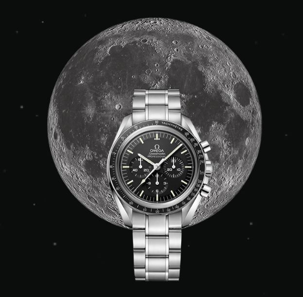 The final Omega ad… But not David's Moon - this one belongs to Apollo…