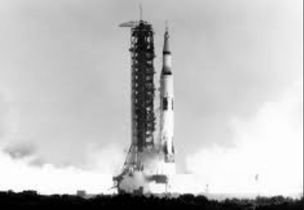 Apollo 11 Launch - broadcast live on 16 July, 1969