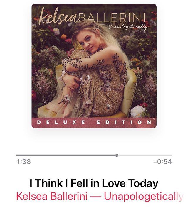 "@kelseaballerini ""I Think I Fell In Love Today""  #mastering #thehitlab"