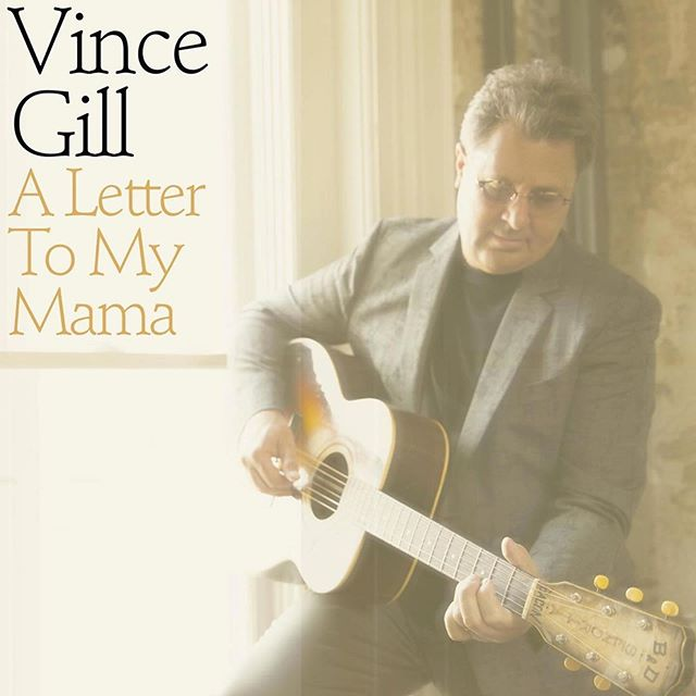 """Vince Gill's new song """"A Letter to My Mama"""" from his upcoming album Okie, available August 23.  Mastered at The Hit Lab by @nathandantzler"""