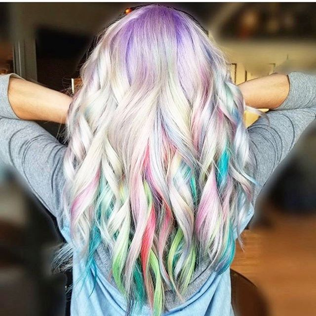This colour is created by Alyssa in Old Strathcona. Alyssa is able to create and help you with your hair vision. She has a passion for fun colours and cuts. As you can tell she is great at what she does. Get in today for the hair you've always been thinking of or book a consultation for free to chat about it. #pulpriothair #yeghair #mousybrowns #fun #style #curls #behindthechair #modernsalon #blonde #yeg #hair #colour #multicolor #bookin #getinwhileyoucan