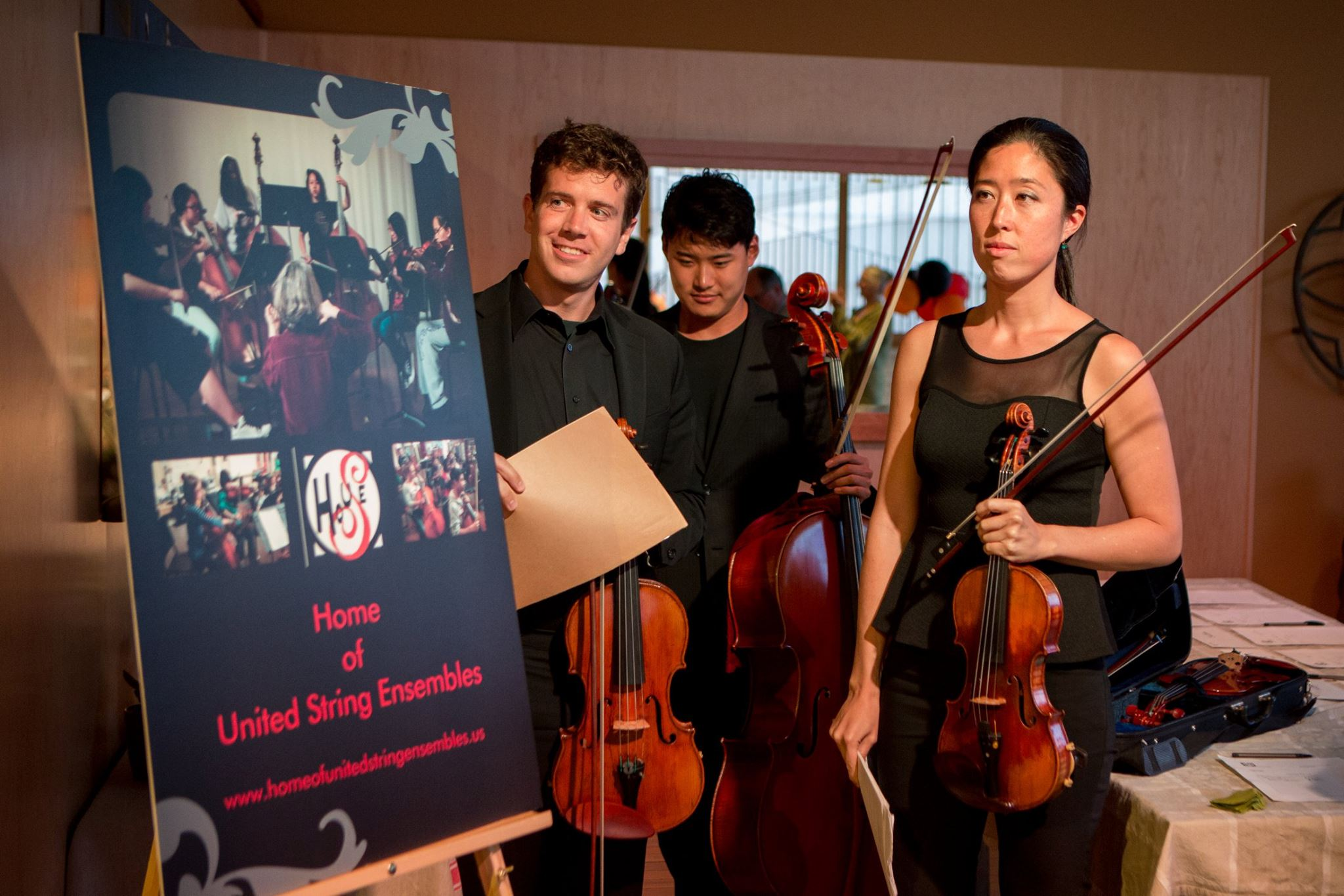 Benefit concert for Oakland based org providing music education to middle schoolers