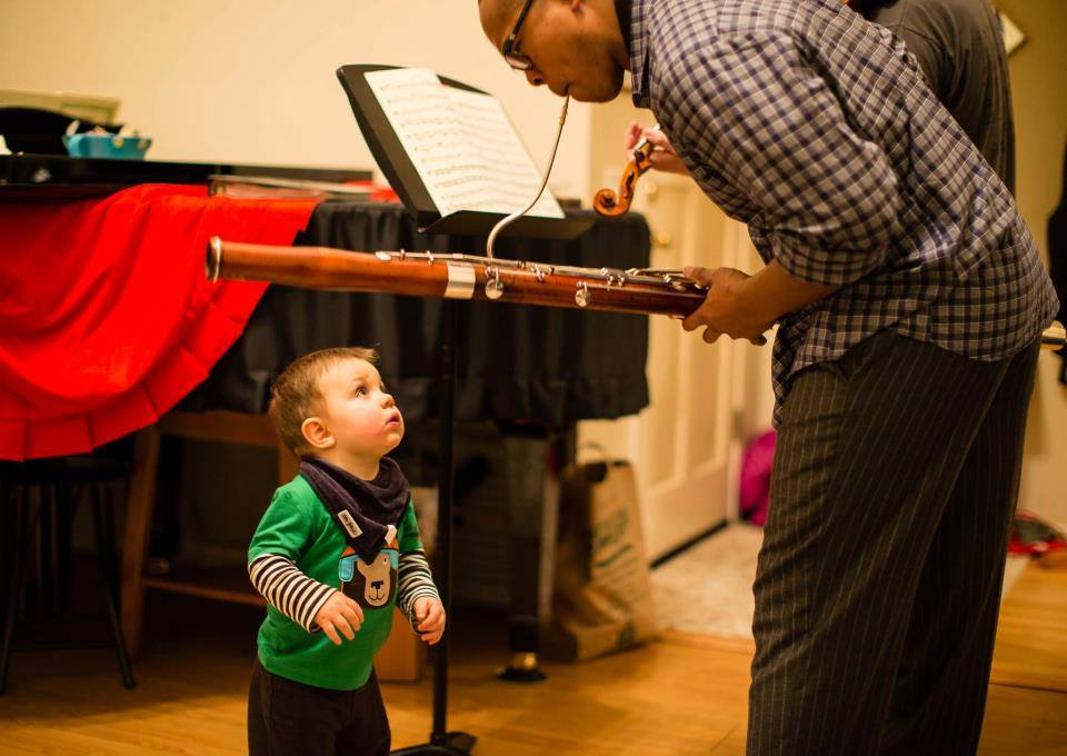 Fascinated by the bassoon