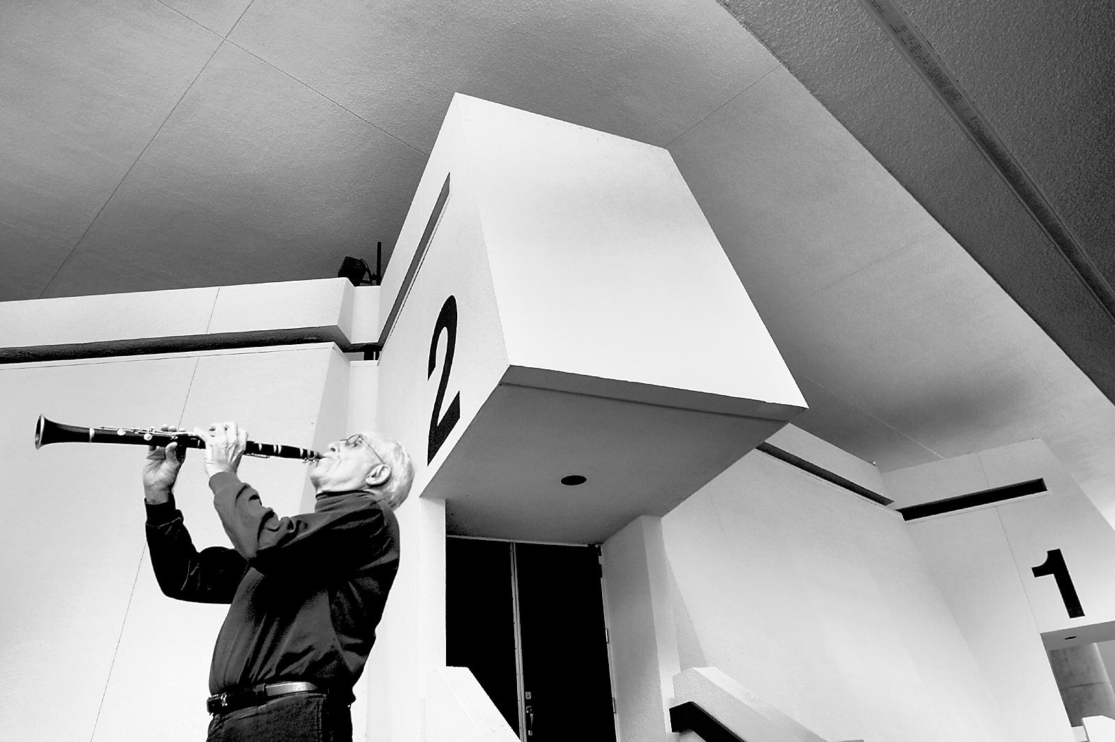 David Kaun,UCSC Economics Professor &Philanthropist/Photo by Shmuel Thaler